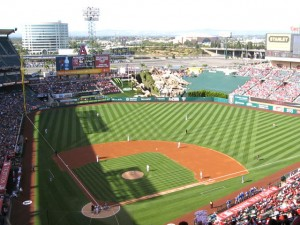Angel Stadium View of Field